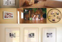 cadre photo-wall displays