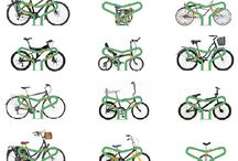 Bike Racks / Interesting bike racks that could make an interesting addition to your commercial district.