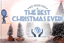 Christmas & holidays After Effects e-Cards