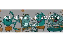Stampydoo y el #MWC16 / En este tablero compartiremos nuestra pequeña aportación al Mobile World Congress 2016, el congreso anual de comunicación móvil más importante del mundo. Pasen, vean, compartan, lean y actualicen sus móviles.
