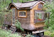 Caparazón de Tortuga - Turtle Shell Homes / Living in Tiny Homes and Small Spaces