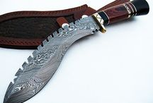 Damascus knives / A passion for this steel!!