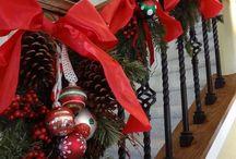 Stairs Christmas
