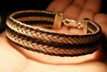 Ékszerek, jewelry / Horsehair jewelry !