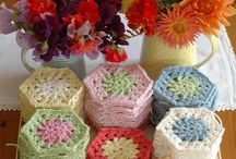 Crochet ~ Granny Squares & such / by Eve Slacum-Myers