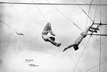 Circus Photography / Vintage and modern circus photography that helped inspire my YA Fantasy, Pantomime. http://www.lauralam.co.uk