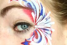 Face Paint- 4th of July