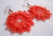 crochet jewelry / by Christine Neeley