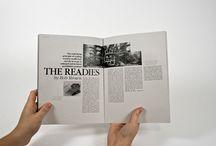 Editorial Design / by Bernice van Rooyen