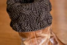 Knitting-Boot Cuffs/Toppers