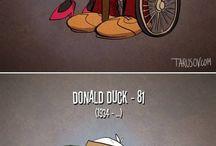 Cartoon-Figuren
