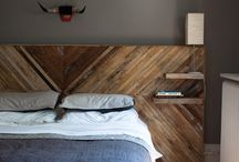 Bed head  & side tables