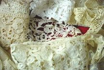 English boot fair finds  - Linens and Lace