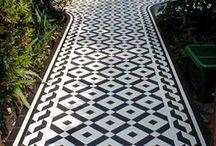 Floor tiles ...