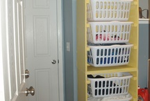 Around the House: Laundry Basket Towers. / by Tamela Barnett