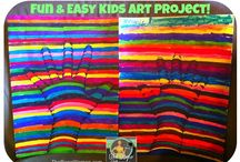Art ideas / Projects to try with the kids in my class