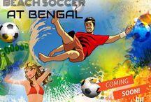Poster - Bengal Beach Soccer Premier League 2017