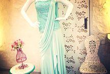 Cocktail/Western Occasion Wear by VARIJA Design Studio / Drape Saree Gown