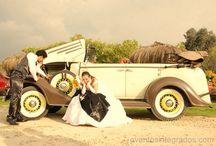 Carros Antiguos y carrozas para Bodas Perfectas