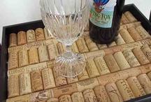 špunty od vína