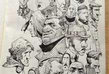 Sketches of Caricatures, Turn and human