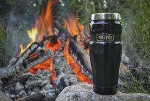 The Great Outdoors / We've been keeping campers happy for decades. Bring us along to keep your cocoa hot and your hikes hydrated. / by Thermos