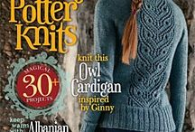 Literary knits / Beautiful patterns with a literary inspiration, and our thoughts on yarn substitutions!
