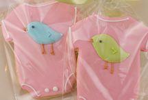 Iced biscuits - birds