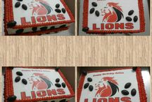 Our Lions cake