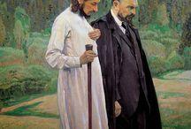 Pinturas de Mikhail Nesterov - (Simbolismo) Russo