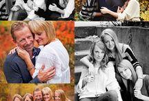 Familie foto ude