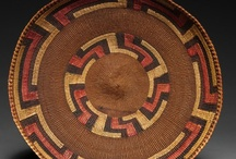 Native American Baskets & Hats