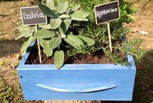 Arredo verde / Ogni cosa riciclata può diventare.. green! Tante idee per creare originali elementi di arredo per il giardino!