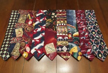 Tabasco Ties / It's one of those obsessions - I love beautiful men's neckties.  I don't want to wear them or even collect them.  I just really like Tabasco, Nicole Miller and J. Garcia ties. / by Patience Cole