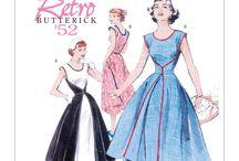 50's fashion patterns