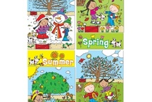 Seasons bulletin board