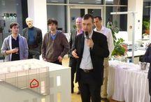 VÝSTAVA / Výstava architektonických návrhů