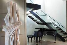 Entryways & Stairways / Classic, elegant interior stairways and entryways by Dunagan Diverio Design Group.
