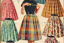 História da moda-anos 50