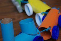 Kids craft - toilet rolls