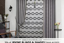 Irvine Blinds & Shades / The design staff at Irvine Blinds & Shades is known throughout California as number one in the business of providing quality window treatments at exceptionally low prices.