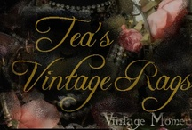 Tea's Vintage Rags / https://www.facebook.com/groups/teasvintageragscreations/