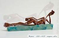Sculpture of Tatiana Starzhevska / Wood sculpture