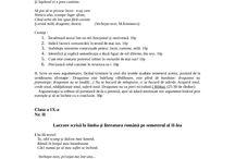 teme romana clasa a 9 a