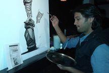 Paintings on Wall - NS Kumbar Art