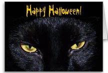 When Black Cats Prowl And Pumpkins Gleam... / Everything for #Halloween! / by KC Porter