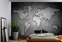 Tapetit, seinät - wall paper, walls