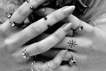♡ tattoo ♡ / Tanti segni sulla pelle.