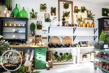 Greenery Shop Inspiration