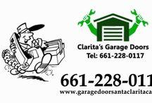 Garage door service Santa Clarita